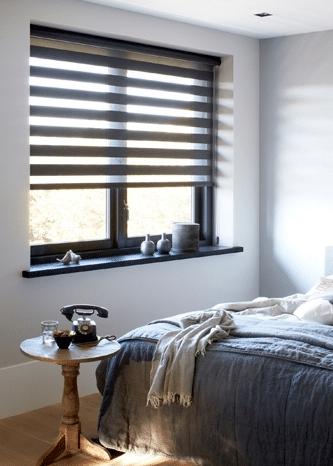 duorolgordijn slaapkamer