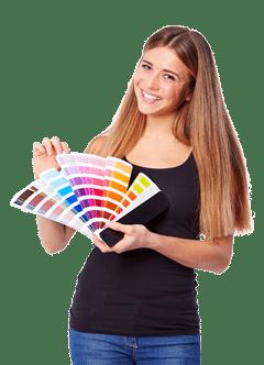 Gratis kleurstalen aanvragen