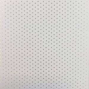 geperforeerde lamel pvc grijs