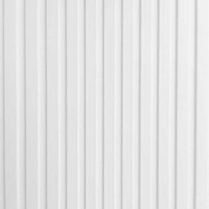 wit rib kunststof lamel