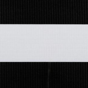 Zwart duorolgordijn