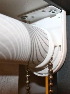 Montagesteunen voor rolgordijnen wit