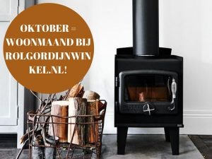 Oktober woonmaand Rolgordijnwinkel.nl