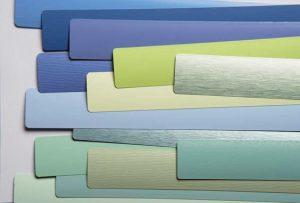 Aluminium jaloezieën kleurstalen