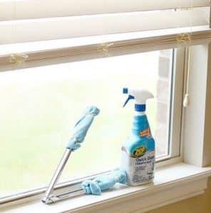 schoonmaaktips voor raamdecoratie