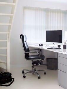 Kantoor bureau lamellen