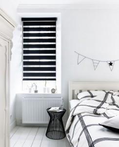 Duorolgordijn verduisterend slaapkamer
