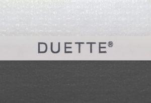 antraciet duette gordijnen