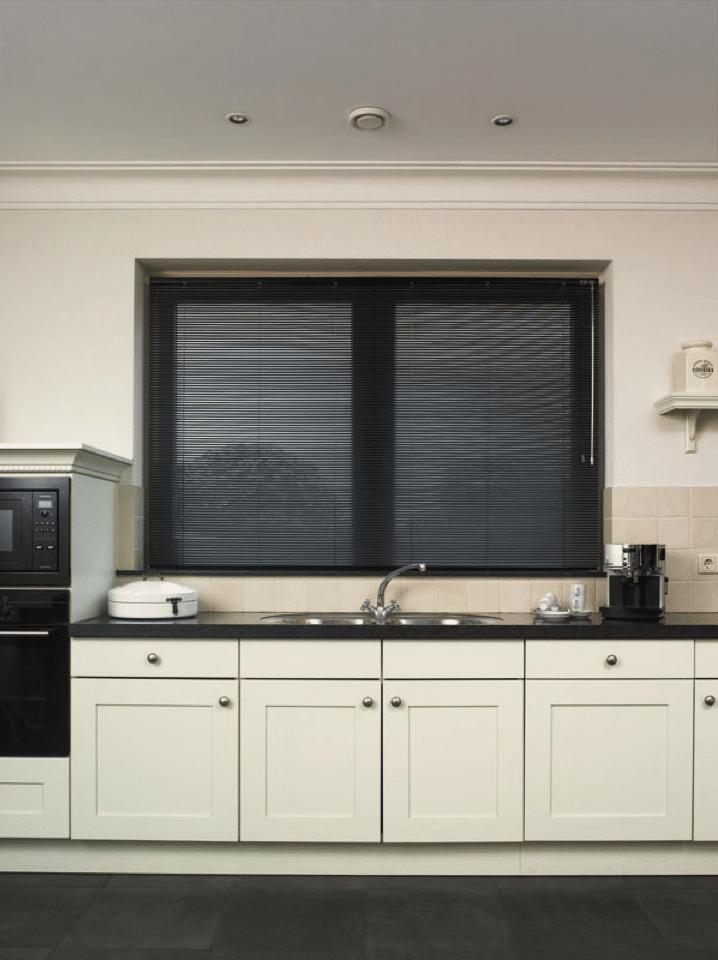 Keuken zwart wit rood gehoor geven aan uw huis - Keuken wereld thuis ...