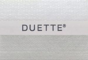 duette licht grijs wit gemeleerd