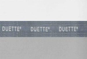 licht grijs plisse gordijn duette verduisterend