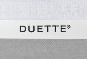 lichtgrijze duette gordijn D21552