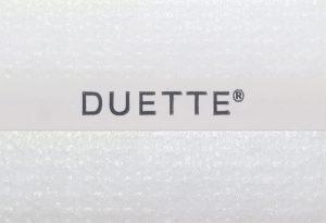 D21561 duette wit gordijn