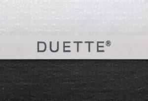 duette semi-transparant