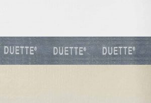 creme duette gordijn D604