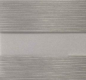 grijs met zilver stiksel