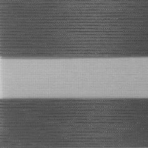 donker grijs met antraciet stiksel
