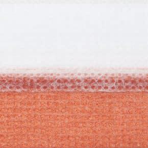 rood plissegordijn dubbel