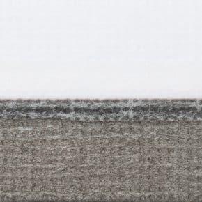 Donkergrijs plissegordijn