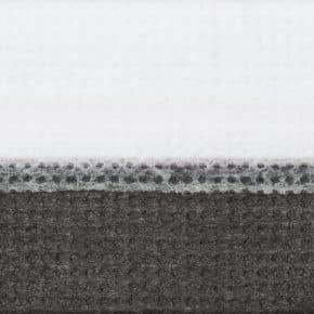zwart dubbel plissegordijn