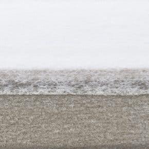 Groengrijs dubbele plissegordijn