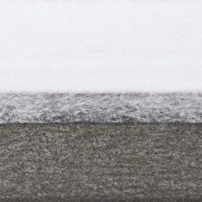 Grijs plissegordijn