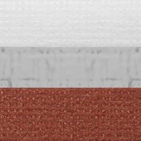 klaproos rood dubbel plissegordijn verduisterend