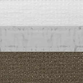 Olijfgroen verduisterend plissegordijn dubbel