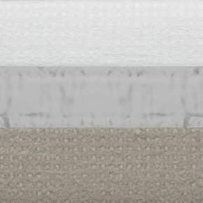 cementgrijs plissegordijn dubbel verduisterend