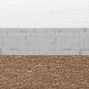 bruin plissegordijn dubbel verduisterend