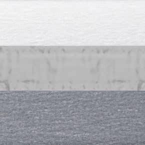 blauw grijs plissegordijn dubbel verduisterend