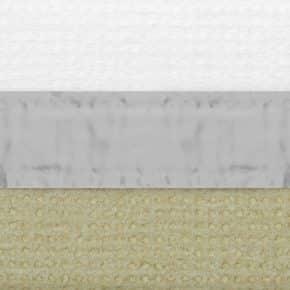 rietgroen verduisterend plissegordijn