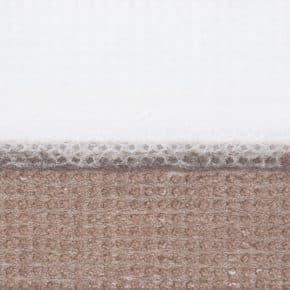 bruin dubbel plissegordijn