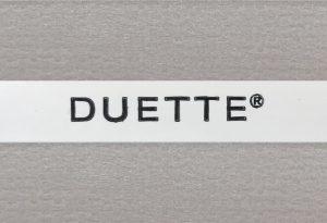 duette gordijn duotone taupe