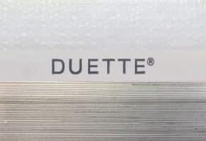 Duette C547 licht ivoor dessin streep 9426