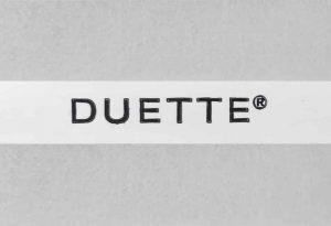 lichtgrijs duette gordijn elan duotone fixe