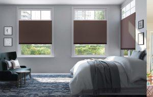 slaapkamer duette bruin