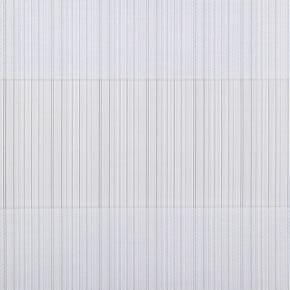 Wit duorolgordijn met streep