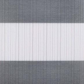 duorolgordijnen grijs blauw
