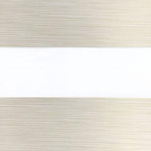 verduisterend duorolgordijn gemêleerd licht bruin