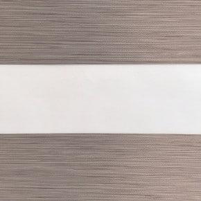 gemeleerd bruin duorolgordijn verduisterend