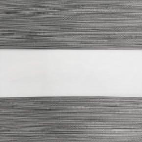 duorolgordijn verduisterend gemêleerd grijs zwart