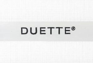 witte duette met structuur