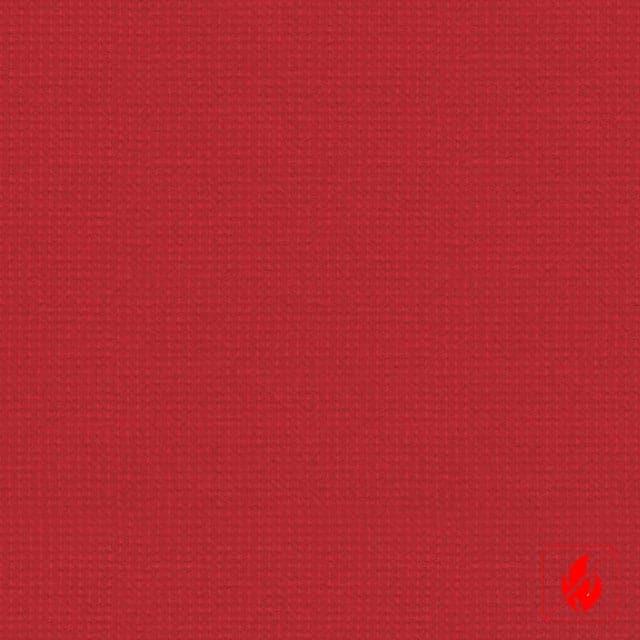 Rode lamellen stof op maat