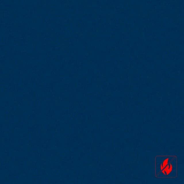 Donkerblauwe stoffen lamellen op maat