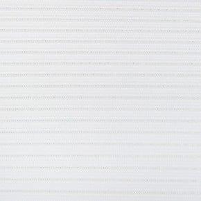 Stoffen lamellen wit met glitter