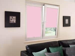 re0323 perfect fit rolgordijn licht roze kiepkantelraam