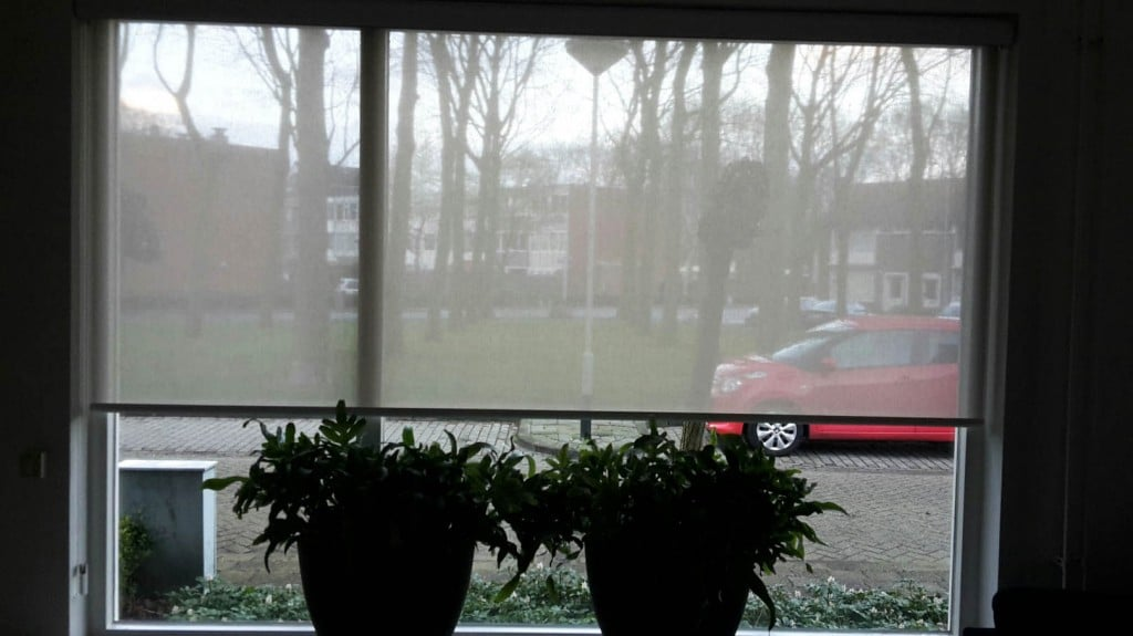 Ingezonden fotos klanten rolgordijnwinkel.nl raamdecoratie op maat