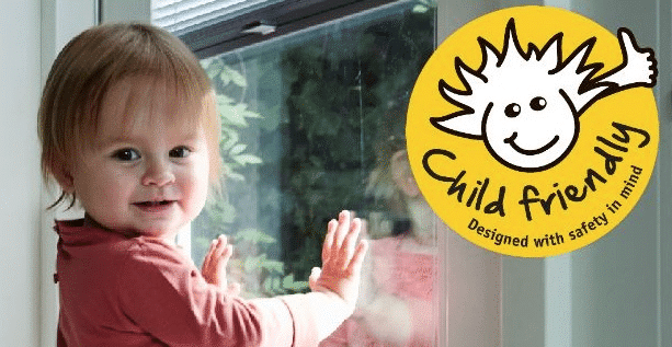 kindje childsafety kindveilige raamdecoraties