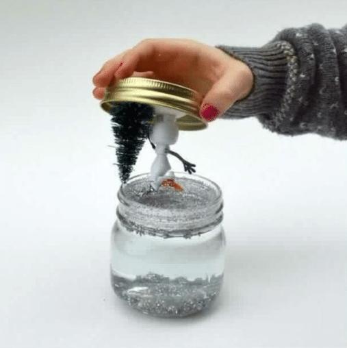 sneeuwglob maken